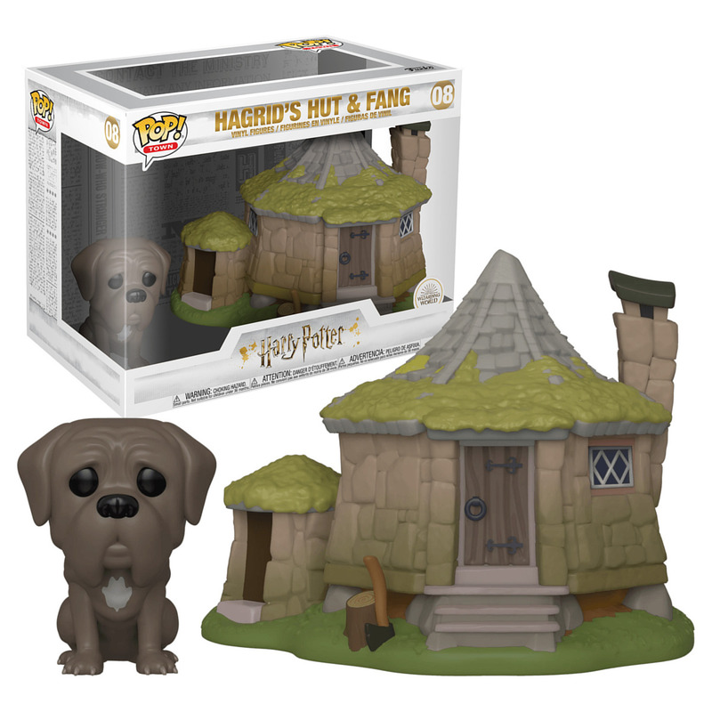 Funko Town Hagrid's Hut and Fang 08