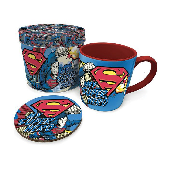 Šalica Superman With Coaster My Super Hero