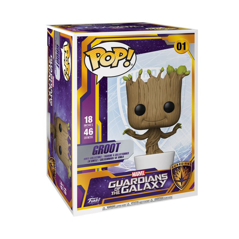 Funko Guardians of the Galaxy Marvel Dancing Groot 46 cm 01