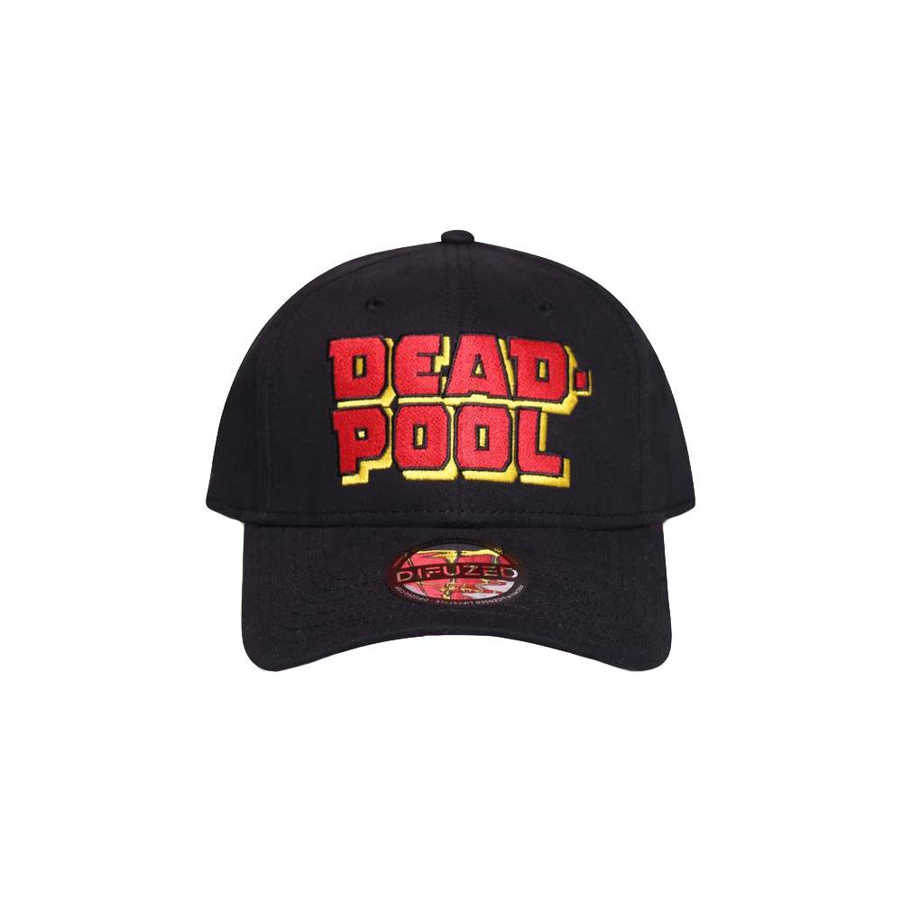 Kapa Deadpool Curved Bill Cap Big Letters