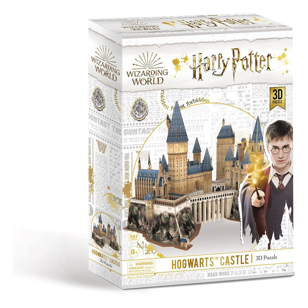 Puzzle Harry Potter 3D Hogwarts Castle (197 pieces)