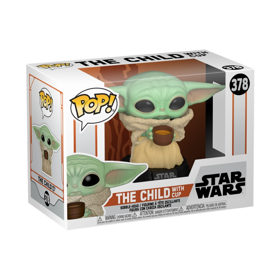 Funko Star Wars Mandalorian The Child w/ Cup 378
