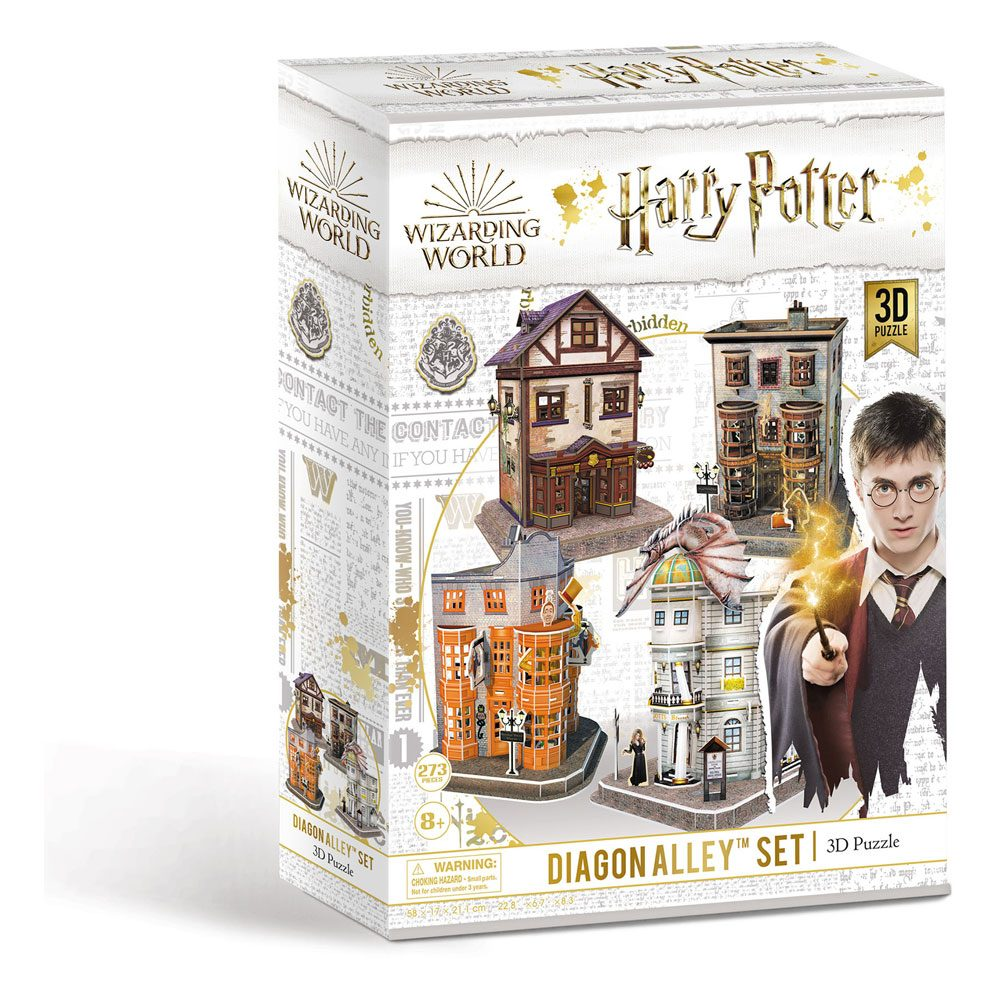 Puzzle Harry Potter 3D Diagon Alley Set (273 pieces)