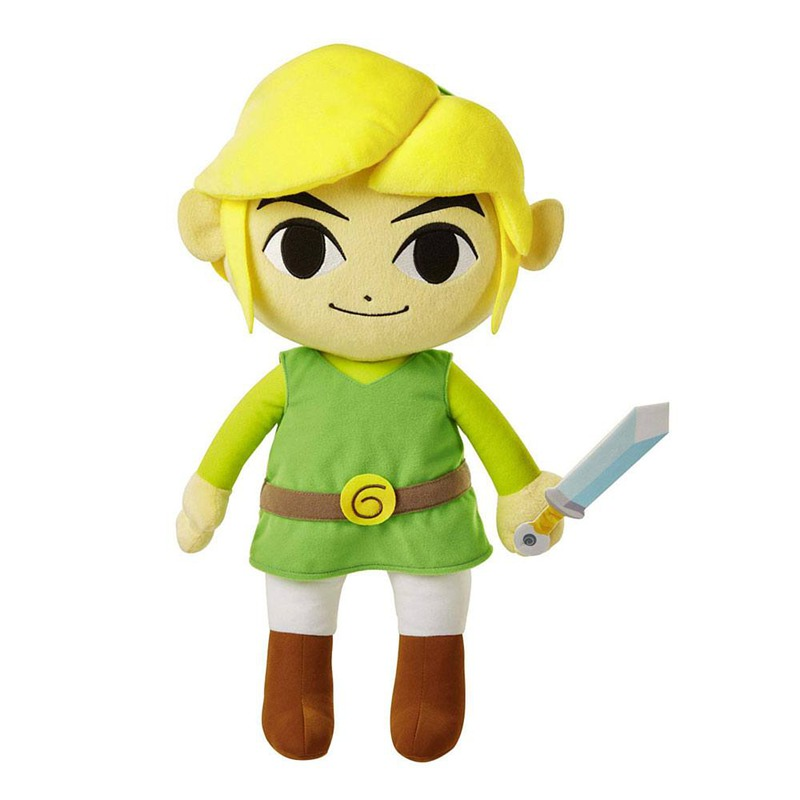 AF World of Nintendo Legend of Zelda Link (Wind Waker) Jumbo plišanac 47cm