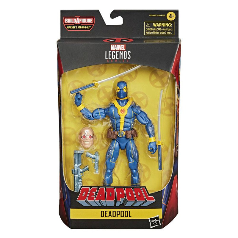 AF Marvel Legends Series Deadpool (X-Men Suit) 15 cm