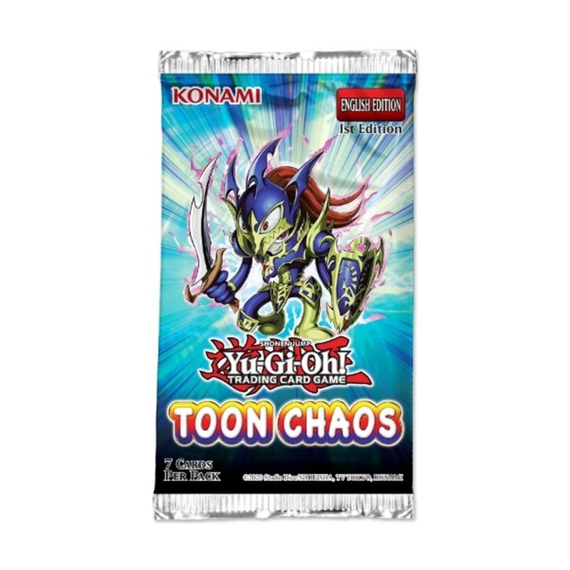 Yu-Gi-Oh booster Toon Chaos