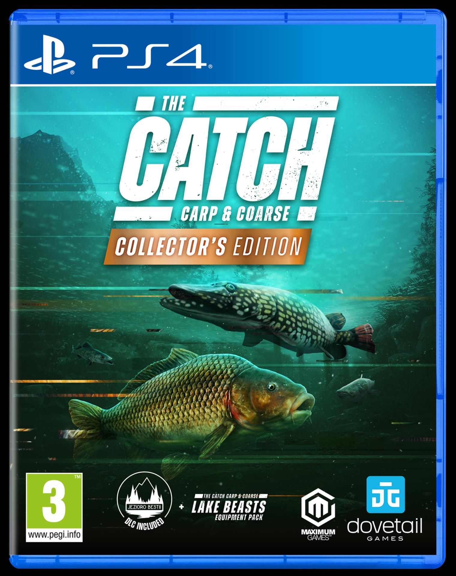 PS4 The Catch Carp & Coarse Collectors Edition