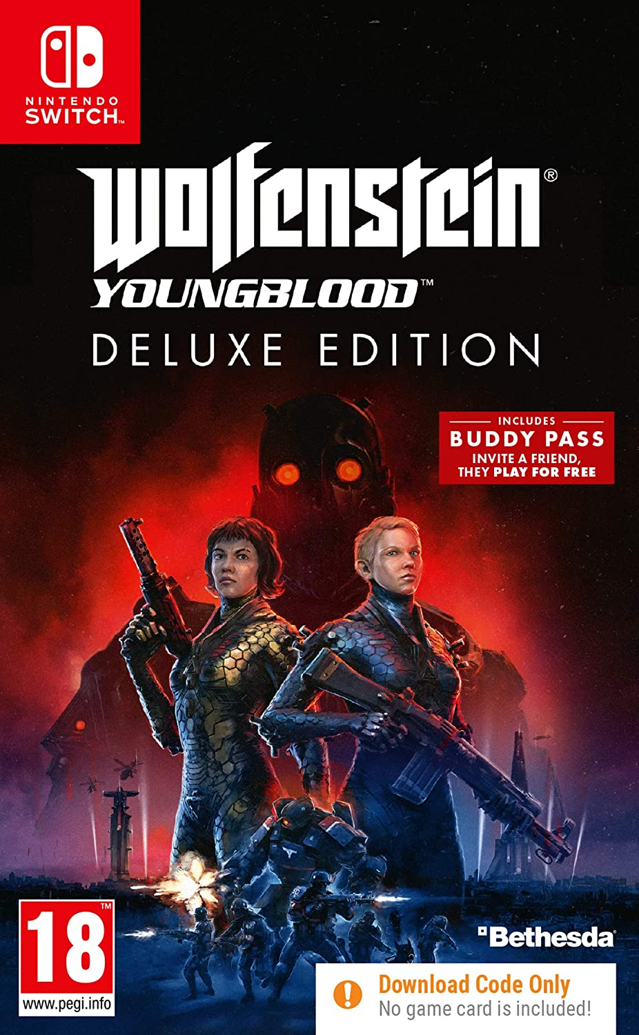 NS Igra Wolfenstein Youngblood Deluxe Edition (code in a box)