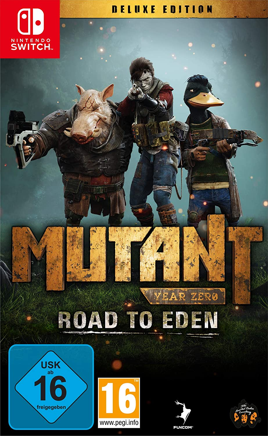 NS igra Mutant Year Zero: Road to Eden Deluxe Edition