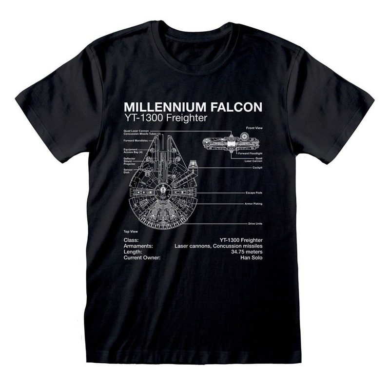 GM Star Wars Millenium Falcon Sketch M