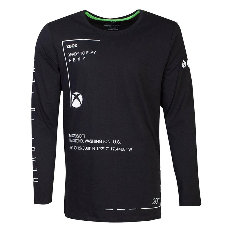 GM Microsoft Xbox Long Sleeve Ready To Play L