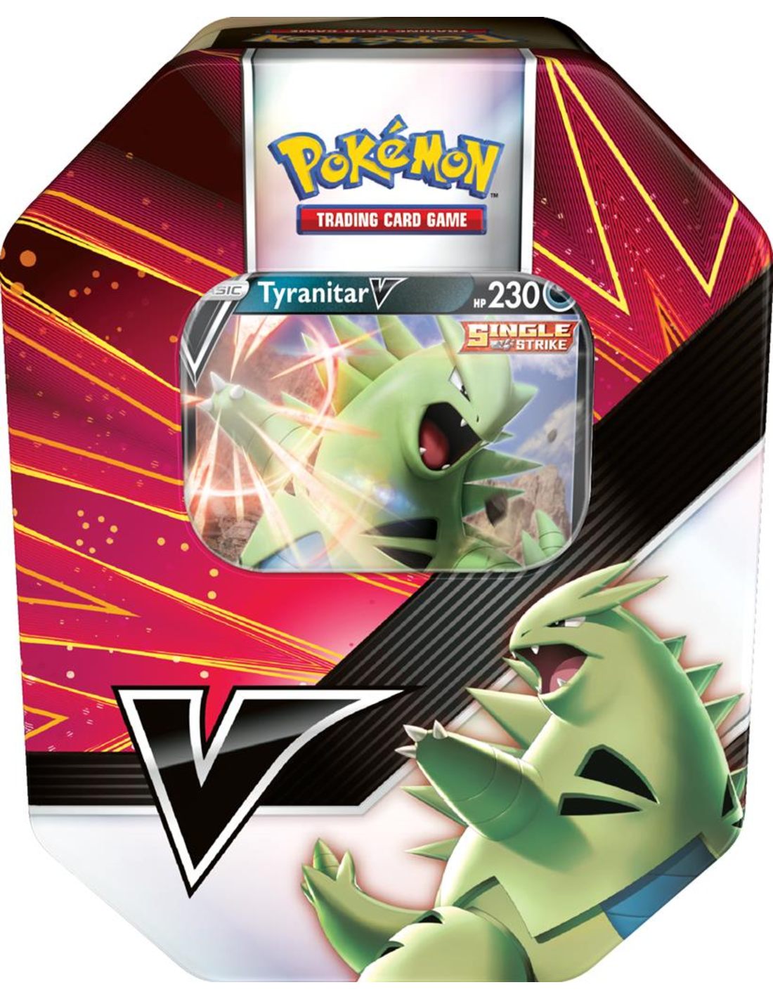 Pokemon Summer V Strikers Tin 2021 Tyranitar V