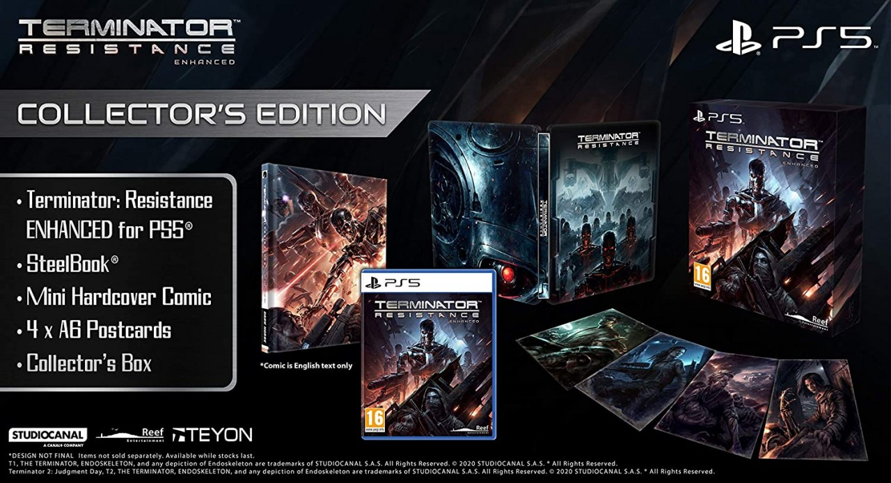 PS5 Terminator Resistance Enhanced Collectors Edition